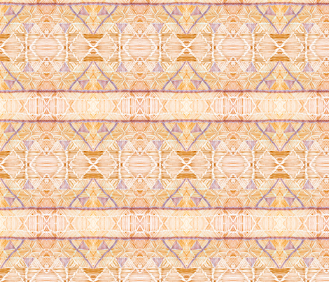 Pyramids fabric by allida on Spoonflower - custom fabric