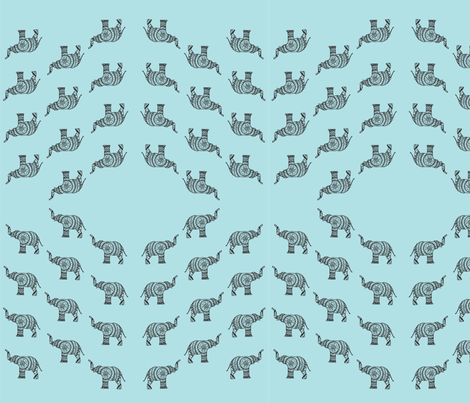 elephantFABRIC fabric by artthatmoves on Spoonflower - custom fabric