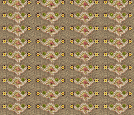 Kiwis_and_Wallabys fabric by spanky on Spoonflower - custom fabric