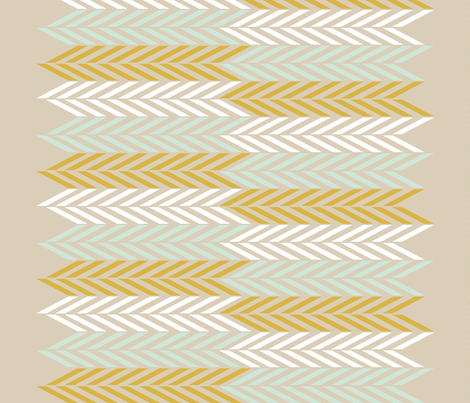 WheatFieldHerringbone fabric by mrshervi on Spoonflower - custom fabric