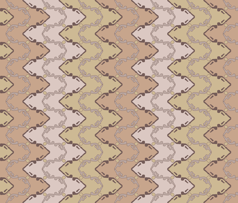 Dreamy zig zag fabric by clarissagunndesign on Spoonflower - custom fabric