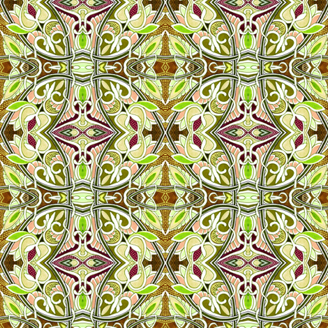 Beyond the Bamboo Forrest fabric by edsel2084 on Spoonflower - custom fabric