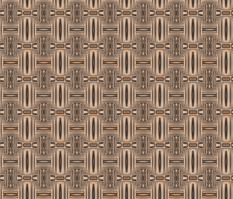 Ocean Villa Terrace Geometric 2 © Gingezel™ 2013 fabric by gingezel on Spoonflower - custom fabric