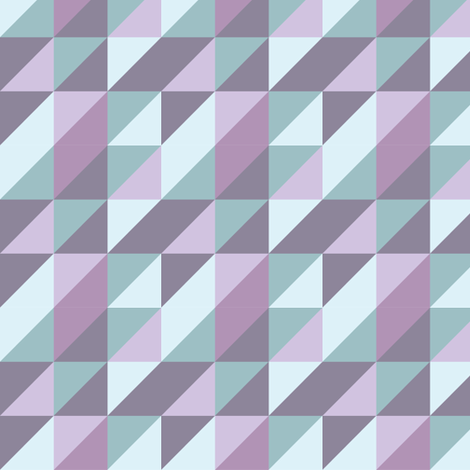 triangle_purple_haze fabric by sasd on Spoonflower - custom fabric