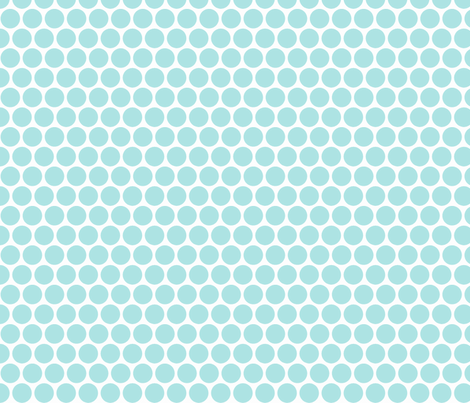Milledotti (paleblue) fabric by pattern_bakery on Spoonflower - custom fabric