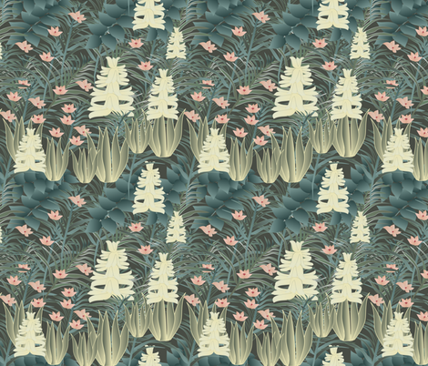 jungle 3 fabric by kociara on Spoonflower - custom fabric