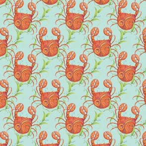 Fancy Crabs by idyl-wyld design