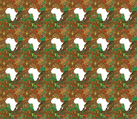 Africa fabric by kjacobsart on Spoonflower - custom fabric
