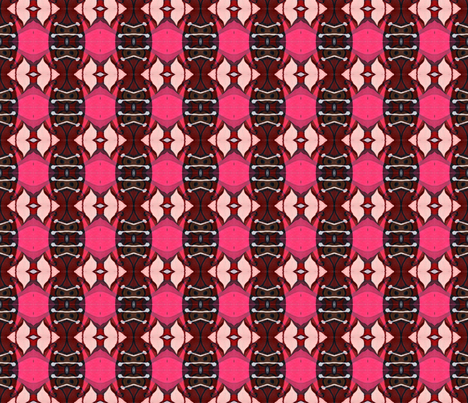 """Pods over Pink"" fabric by elizabethvitale on Spoonflower - custom fabric"
