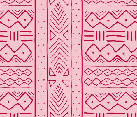 Mudcloth_in_crimson_on_pink_shop_preview