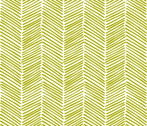 Freeform Arrows Large in willow fabric by domesticate on Spoonflower - custom fabric