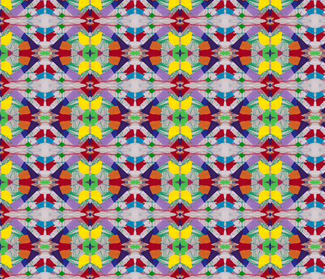 """Tribal Shield Design"" fabric by elizabethvitale on Spoonflower - custom fabric"