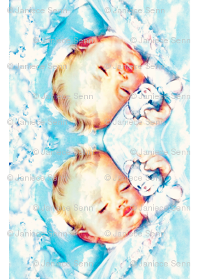 baby blanket border fabric