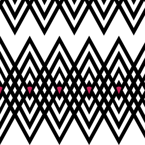 Diamond Stripe fabric by pond_ripple on Spoonflower - custom fabric