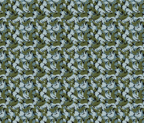 Sixth Scale Urban DPM Camo fabric by ricraynor on Spoonflower - custom fabric