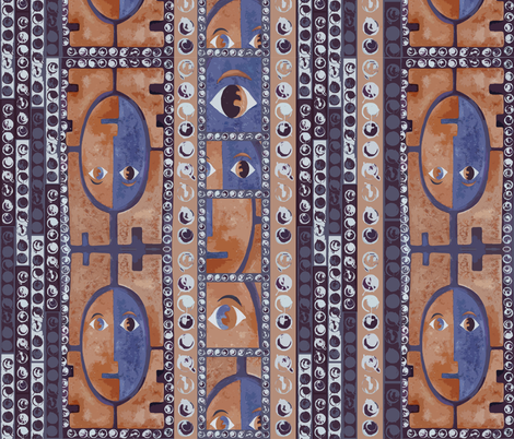 african fabric by tat1 on Spoonflower - custom fabric