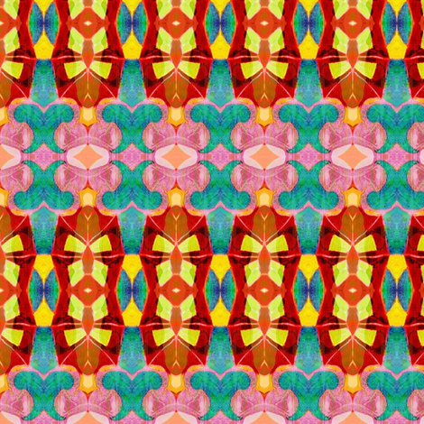 """Geometric Totem"" fabric by elizabethvitale on Spoonflower - custom fabric"