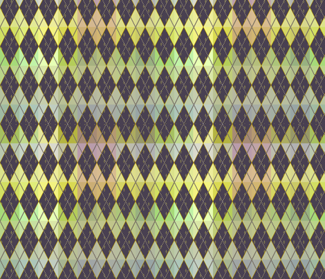 Argyle de Mardi Gras fabric by glimmericks on Spoonflower - custom fabric