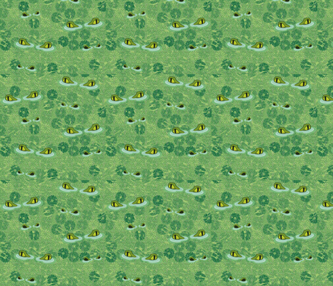Crocs fabric by glimmericks on Spoonflower - custom fabric