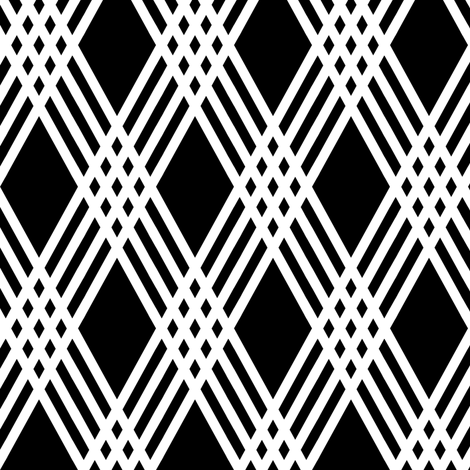 Diamond Inverted Plaid fabric by pond_ripple on Spoonflower - custom fabric