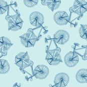 Bikes Blue