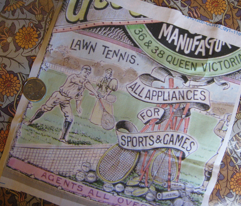 1890's Sports Ads: Large: Coloured