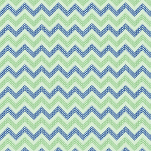 Chevrons-Blue-Pale-Green