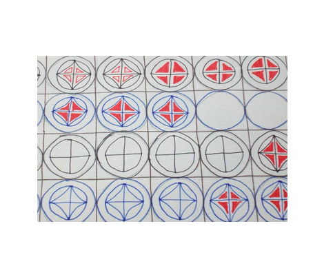 circles fabric by rachana on Spoonflower - custom fabric