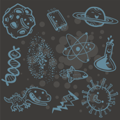 Science is Awesome! {in grey}