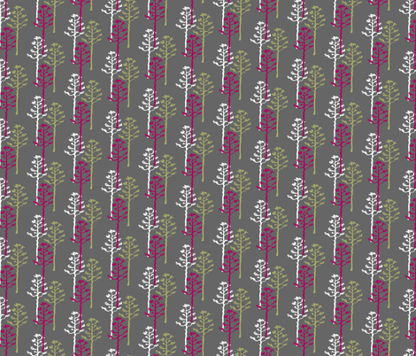 Modern Agave Stalks  fabric by joyfulroots on Spoonflower - custom fabric