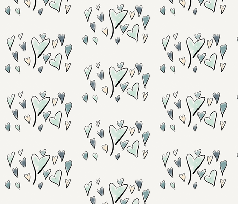 Gathering fabric by stasherella on Spoonflower - custom fabric