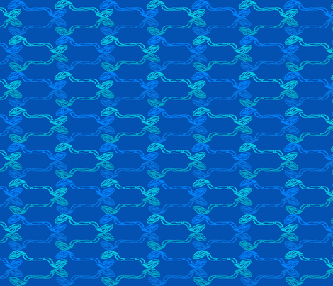bamboo blues fabric by clarissa_marie on Spoonflower - custom fabric