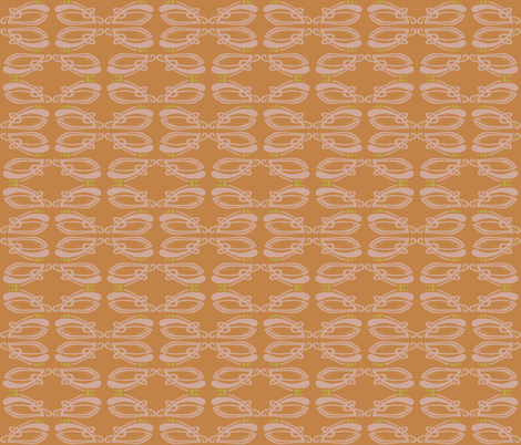 fancy clams fabric by clarissagunndesign on Spoonflower - custom fabric