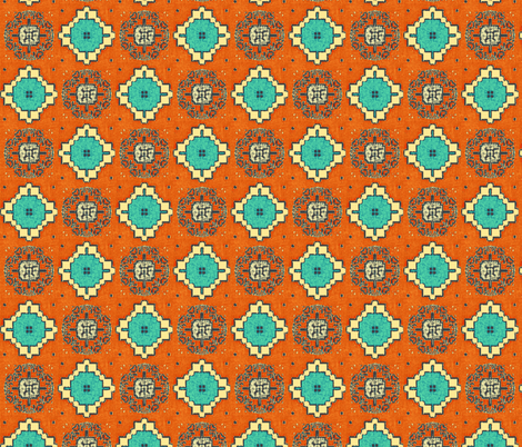 African Weave fabric by kerryn on Spoonflower - custom fabric