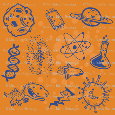 Science is Awesome! {in orange}