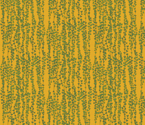 klimt_vines fabric by glimmericks on Spoonflower - custom fabric