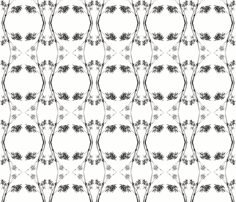 Brush Bamboo fabric by flyingfish on Spoonflower - custom fabric