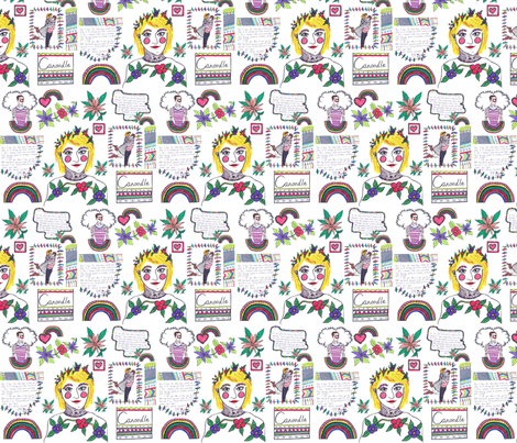 image fabric by teaatauntiesuk on Spoonflower - custom fabric