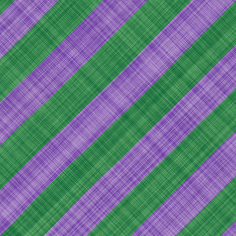 Diagonal Linen Stripe - Lavender Green fabric by bonnie_phantasm on Spoonflower - custom fabric
