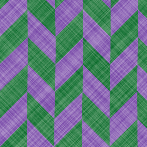 Chevron Linen - Zigzag Alternate - Lavender Green fabric by bonnie_phantasm on Spoonflower - custom fabric