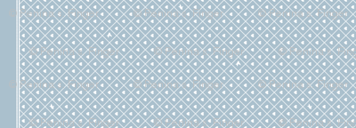 Never Far Away - Border Fabric (color: porcelain blue)