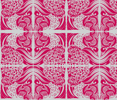 The_Waves_Have_Eyes_Zen144-ch fabric by pink_finch on Spoonflower - custom fabric