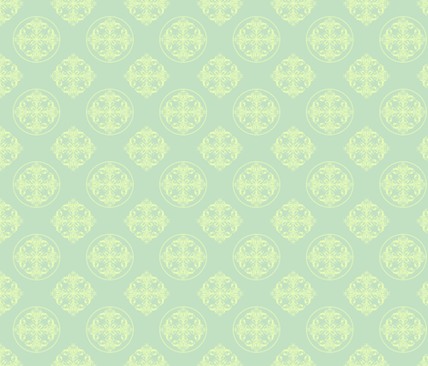 summer fresh fabric by clarissagunndesign on Spoonflower - custom fabric