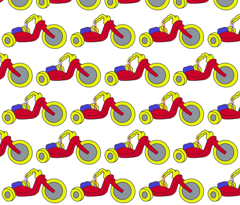 Big Wheel fabric by pink_koala_design on Spoonflower - custom fabric