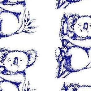 True Blue Koala