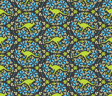 Flowers & Roos  fabric by robyriker on Spoonflower - custom fabric