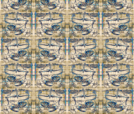 Libra September 23rd- October 22nd fabric by whimzwhirled on Spoonflower - custom fabric