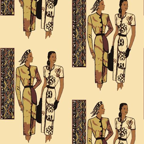 Stylin' 2 fabric by nalo_hopkinson on Spoonflower - custom fabric