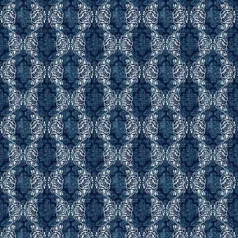 moonlight trellis fabric by keweenawchris on Spoonflower - custom fabric