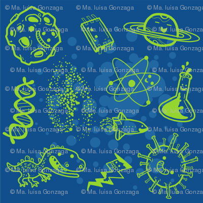 Science is Awesome! {in blue}